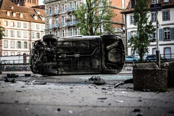 Dopravní nehody 2018: denně škody za 17 milionů